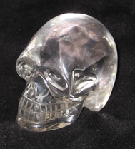 Clear Quartz, Brazilian Crystal Skull, Anton