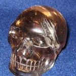 Geronimo Golden Eagle-Eye, a Native American smoky quartz skull