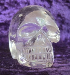 Anton, clear quartz skull from Brazil
