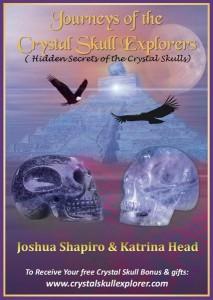 Crystal Skull Kindle e-book cover of new book by Crystal Skull Explorers Joshua Shapiro and Katrina Head
