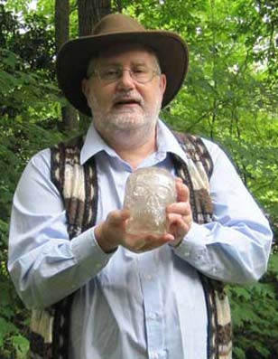 Joshua Shapiro, photo of a Crystal Skull Explorer