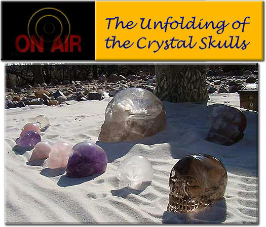 """Unfolding of the Crystal Skulls"", the newsletter (Cristal Skulls)"