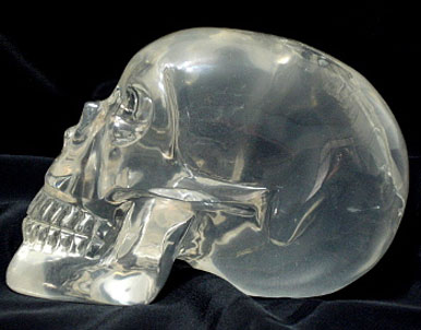 how to make a crystal skull